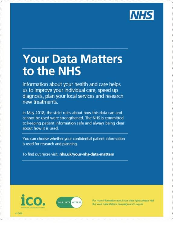 NHS Medical Data Information