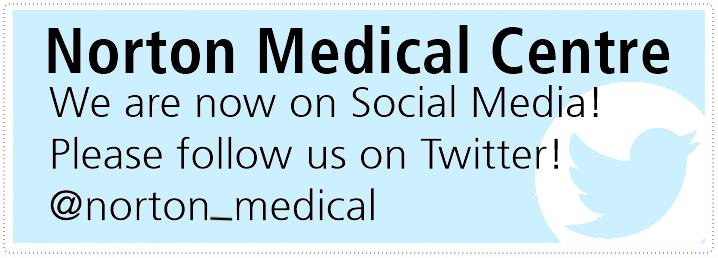 Norton Medical Centre Twitter Advert